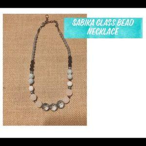 Sabika Glass Bead Necklace
